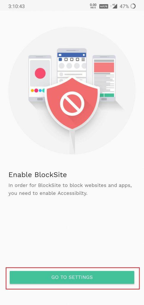 sing blocksite app
