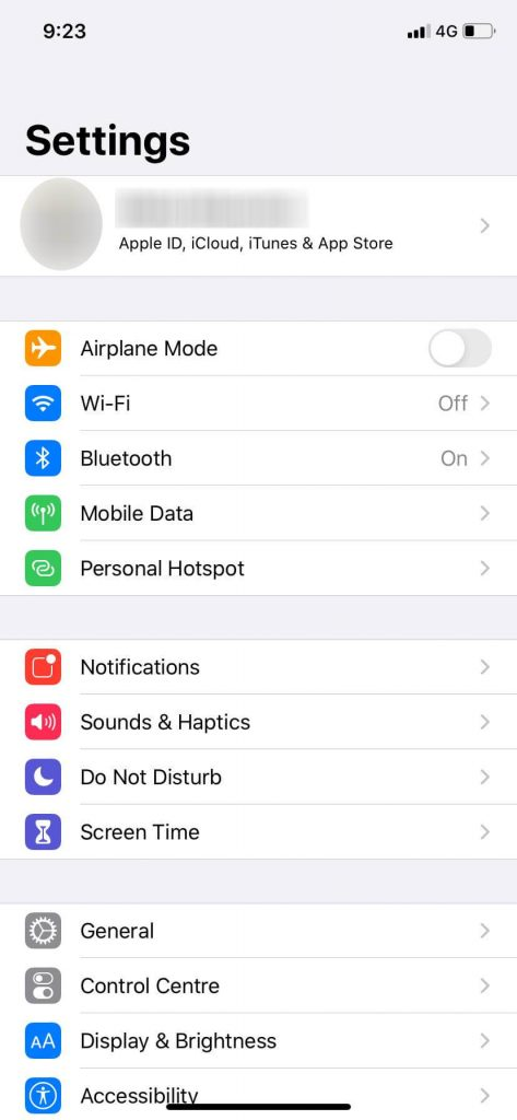 Export Files from iPhone