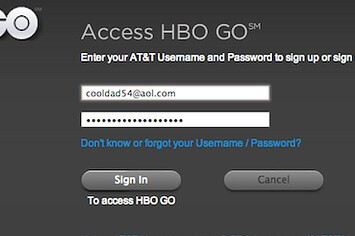 Activate HBO GO app
