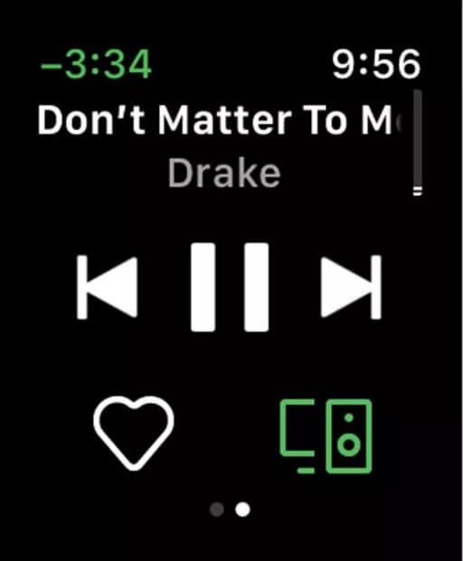 Spotify controls