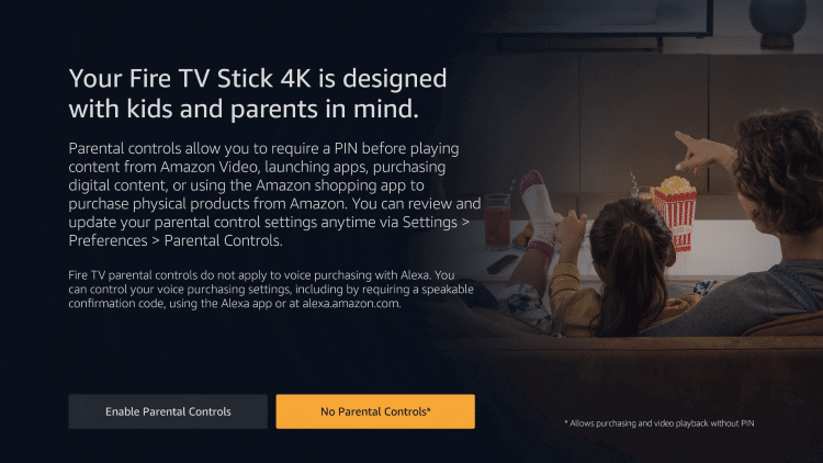 setup Amazon firestick