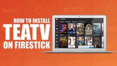 TeaTV on Firestick