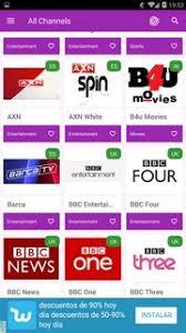 UkTVNow Channels