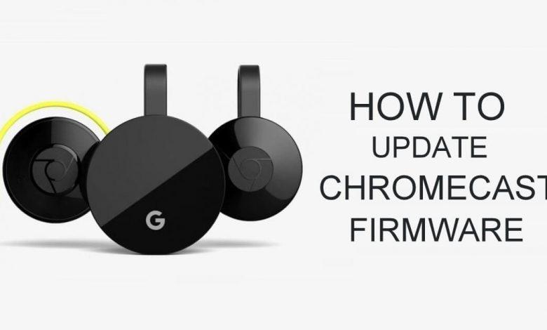 Update Chromecast