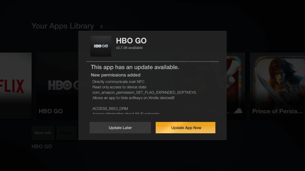 Update Firestick Apps