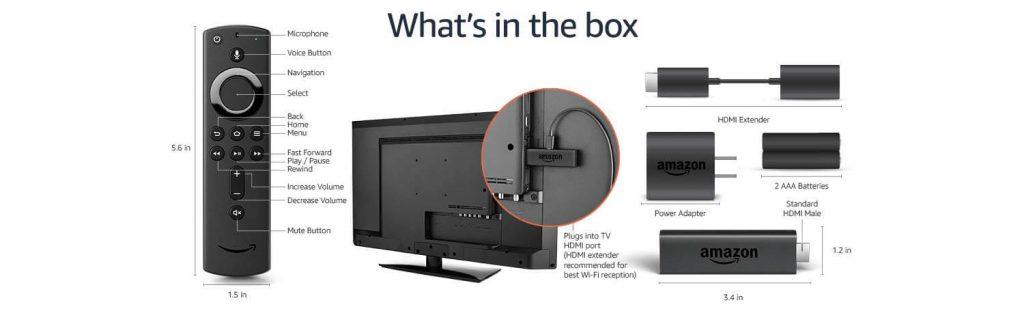 Amazon Fire TV Stick and Remote