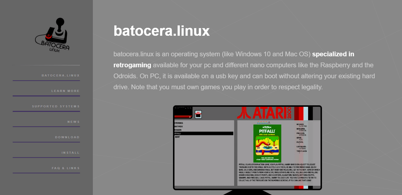 batocera.linux - Best Linux Distro for Gaming