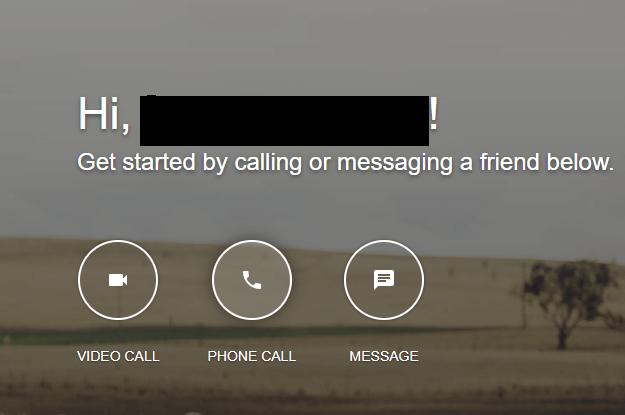 Use Google Hangouts on Computer