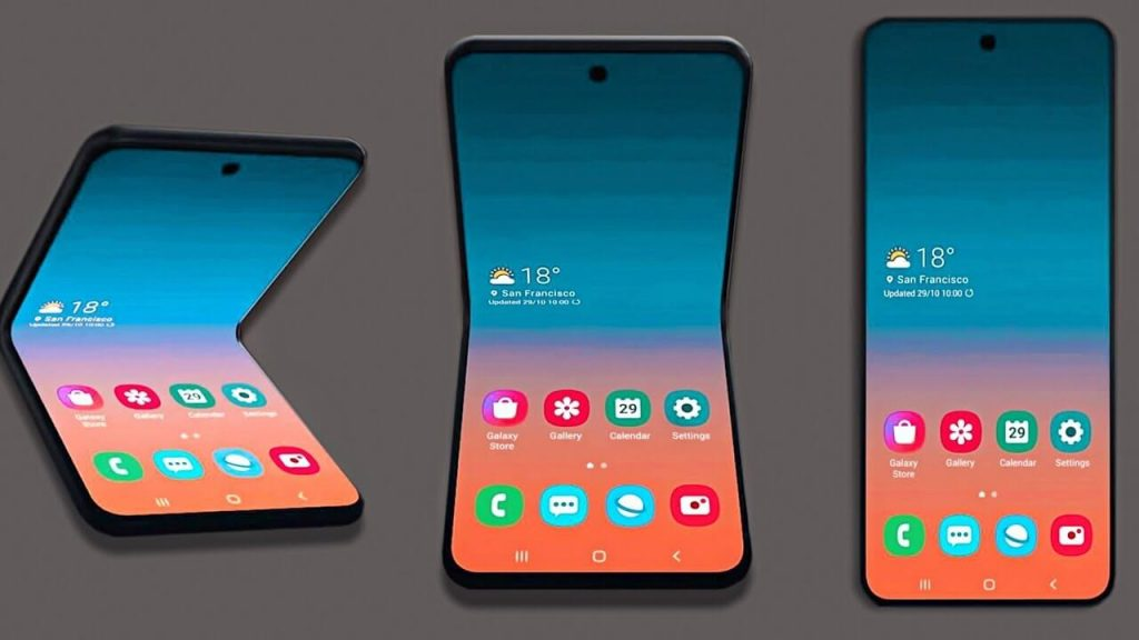 Samsung New Foldable Phone