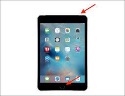 Screenshot on iPad