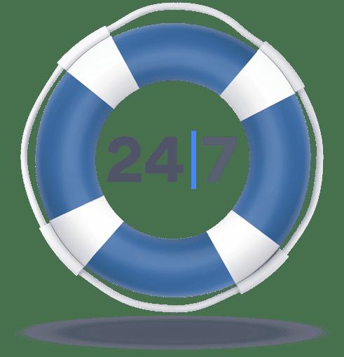 24/7 customer support