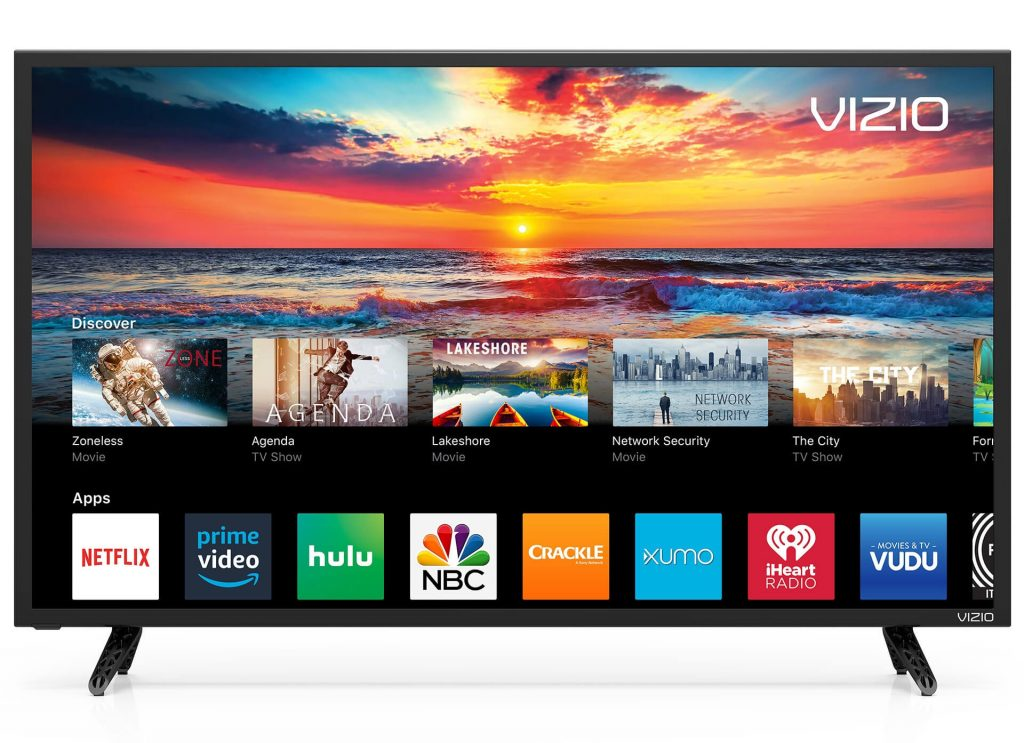 Add Apps on Vizio Smart TVs