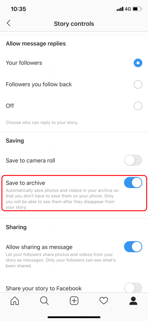 How to Archive on Instagram