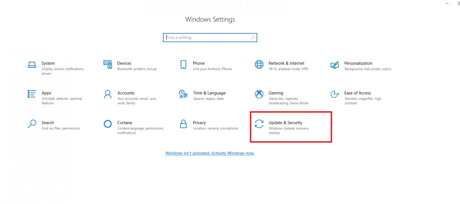 Backup Windows using File History