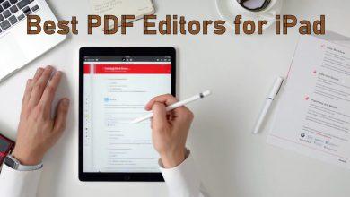 Best PDF Editors for iPad