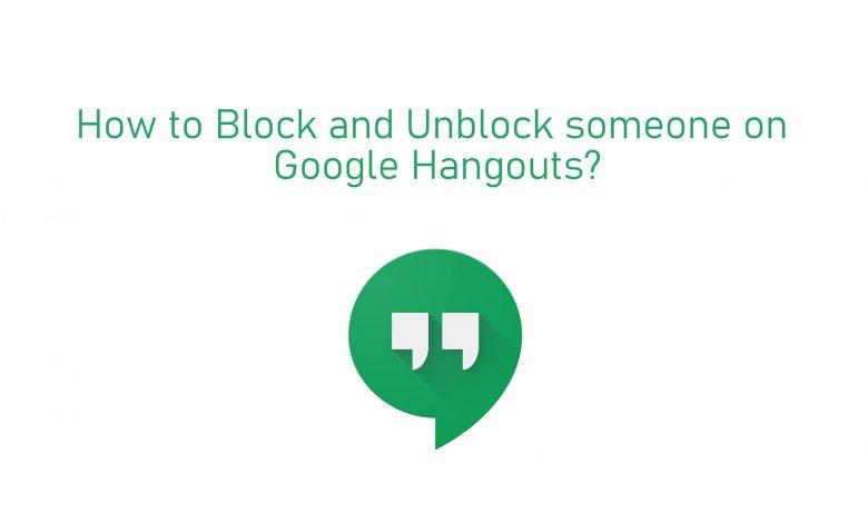 Block someone on Hangouts