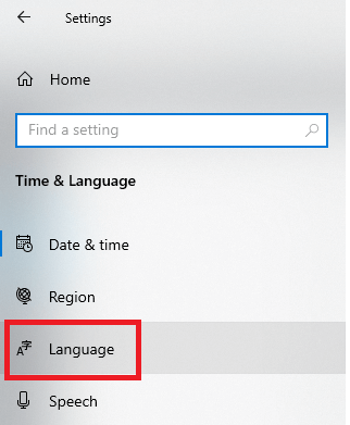 Change the Windows Language