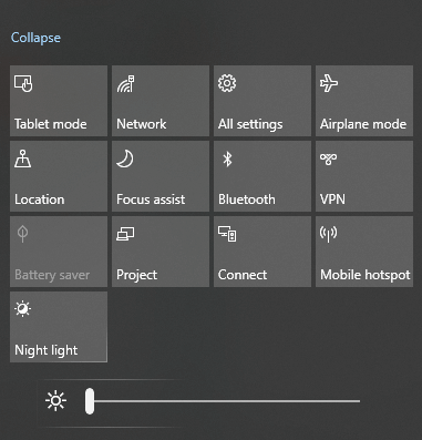 Click Settings icon
