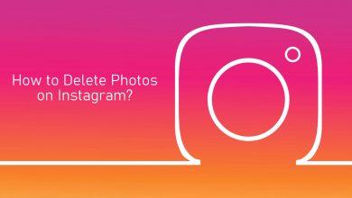 Delete Photos on Instagram