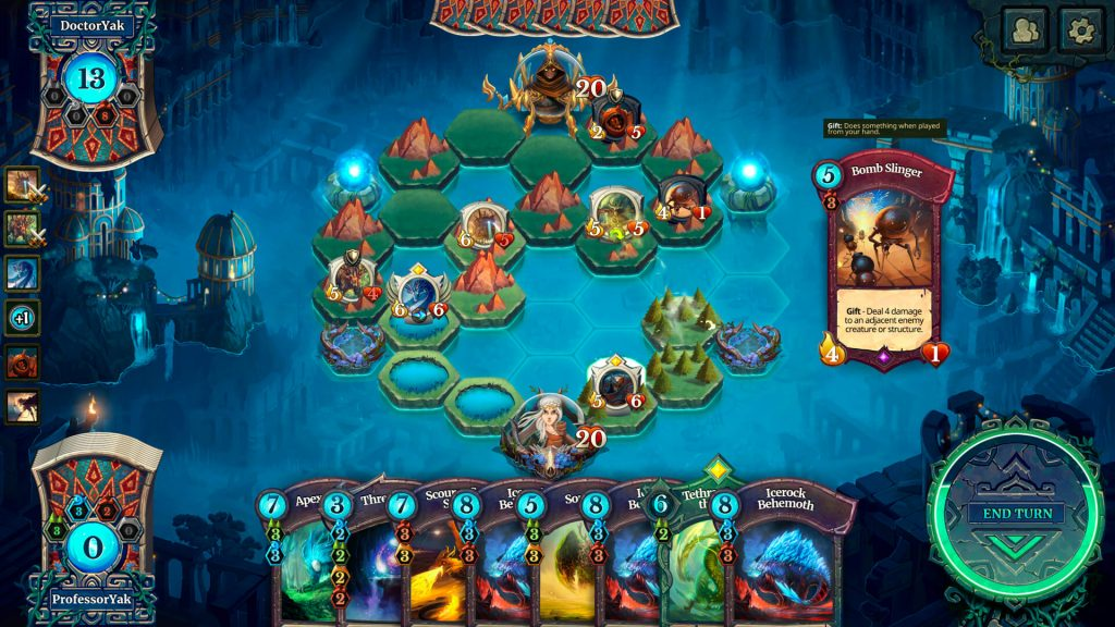Faeria - Best Games for Linux