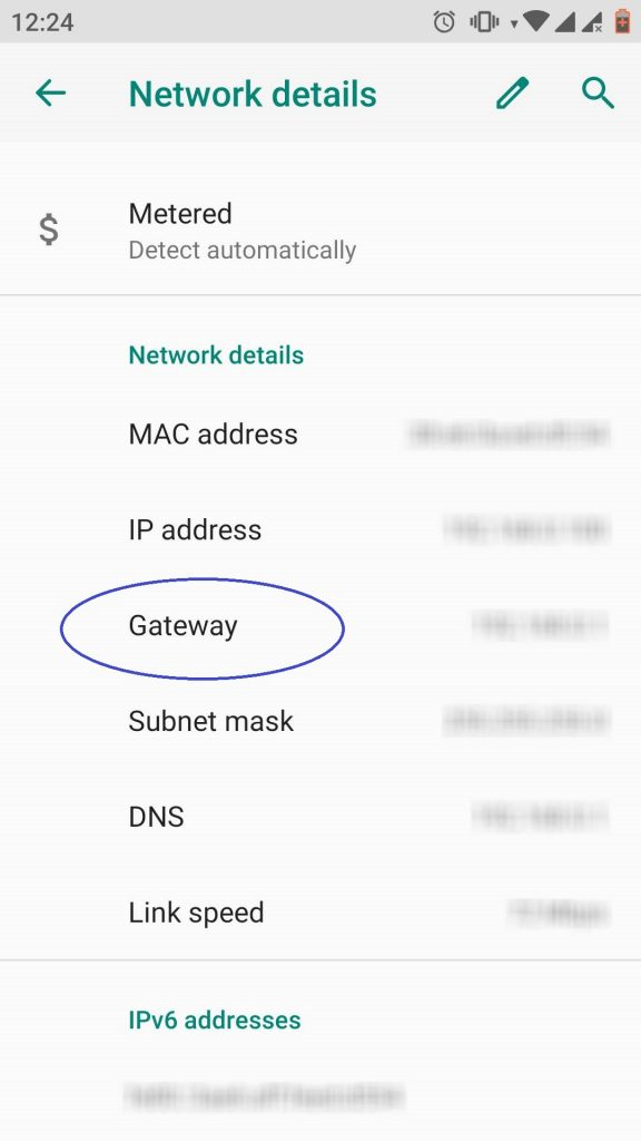 Find WiFi password on Android