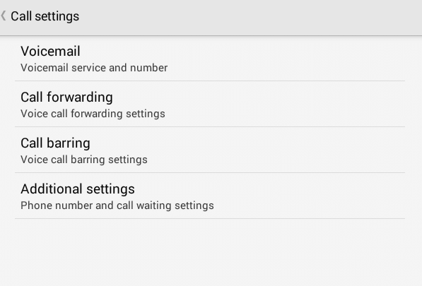 Highlight and click Additional Settings - How to Make Your Number Private on Android