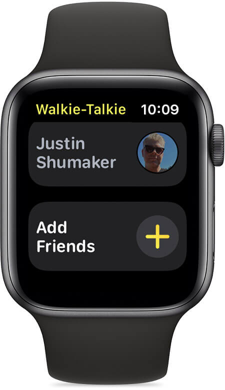 How to use Walkie Talkie on Apple Watch?