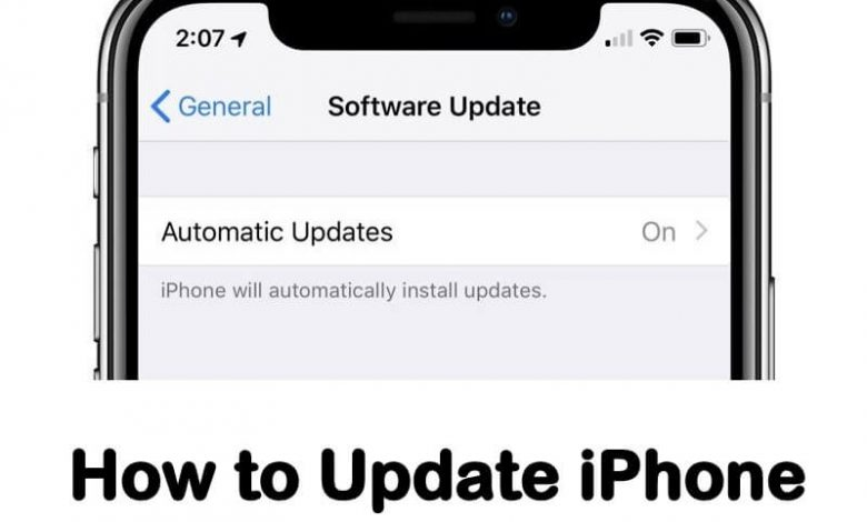 How to Update iPhone