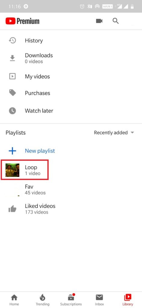 How to loop YouTube videos?