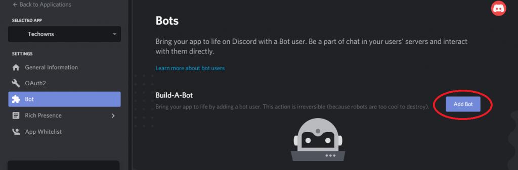 Make a discord bot