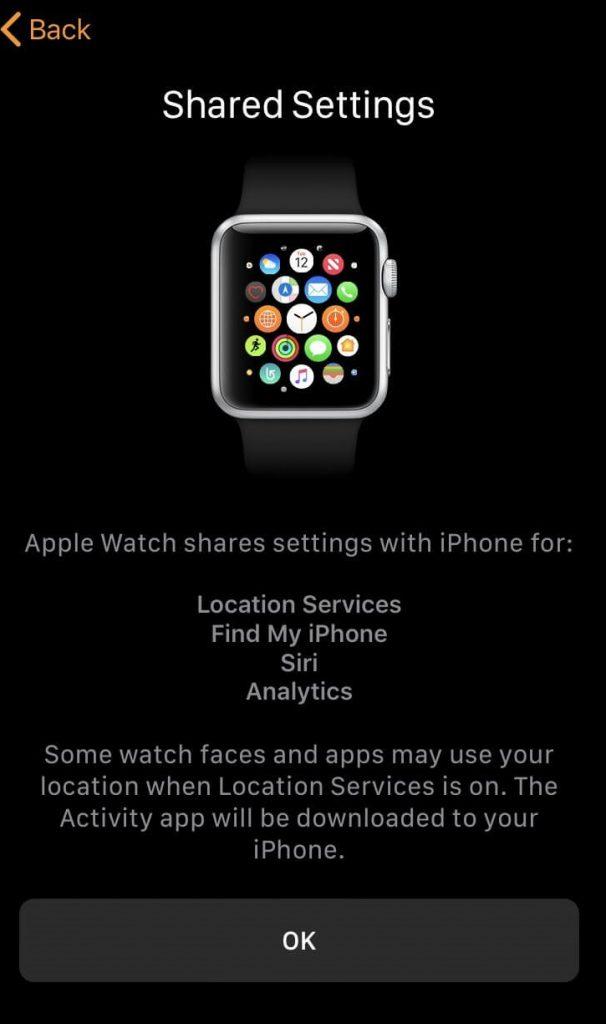 setup apple watch