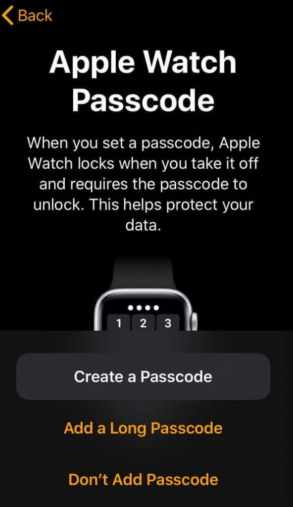 Pair Apple Watch with iPhone