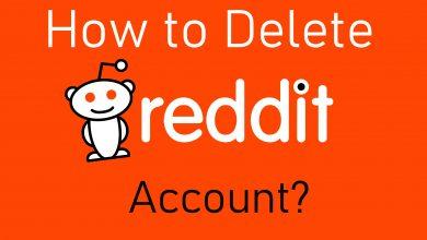 How to delete Reddit account