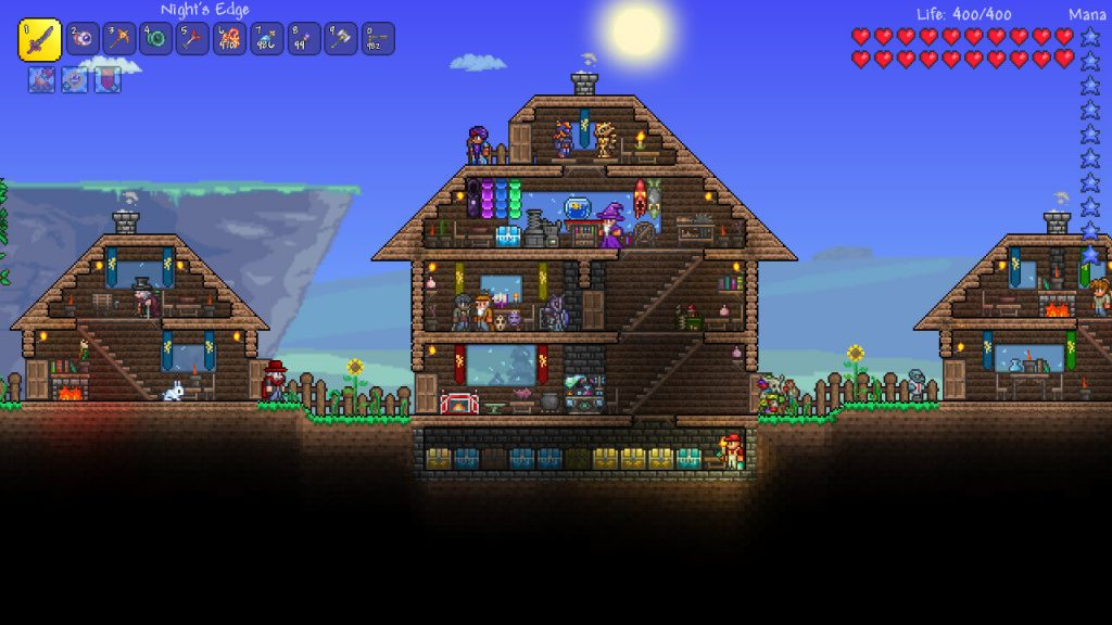 Terraria - Best Games for Linux