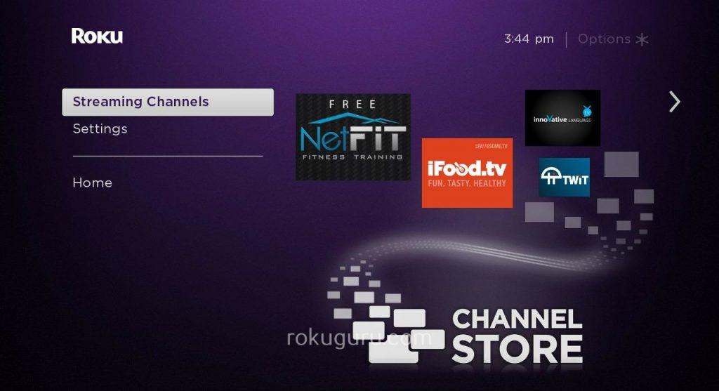 Roku Streaming Channels