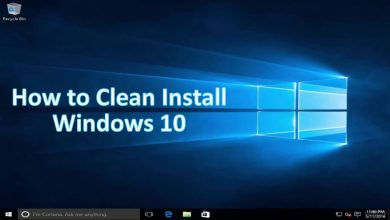 how to Clean Install Windows 10