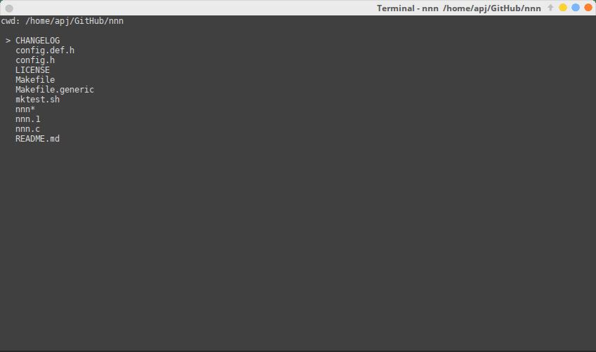 nnn - Best File Manager for Ubuntu