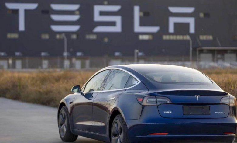 Telsa China made Model 3s