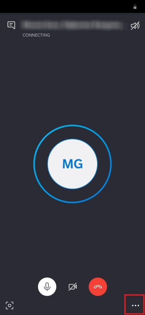 Click on the menu icon