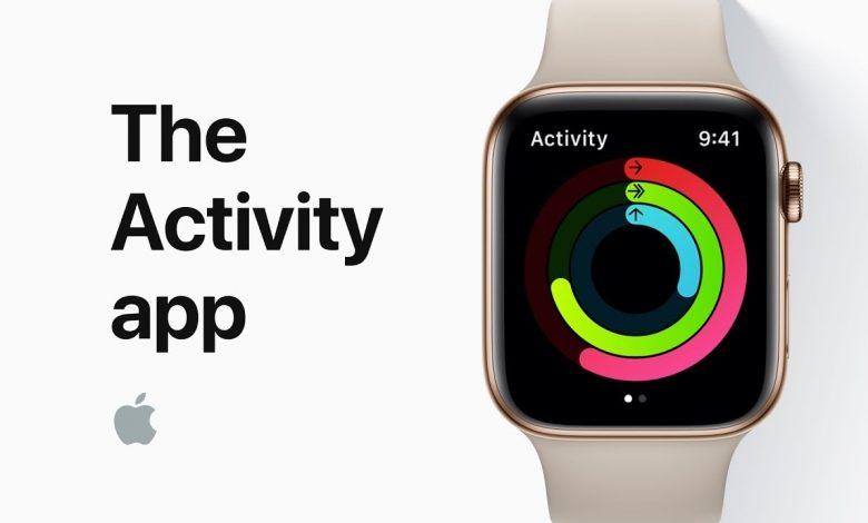 Activity on Apple Watch