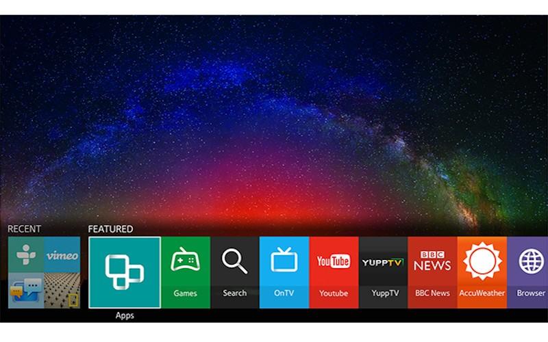 Add Apps on Samsung Smart TV
