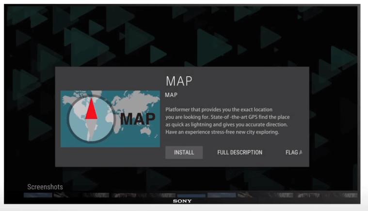Install/Add Apps on Sony Smart TV