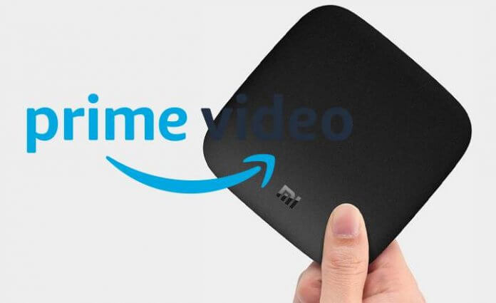 Amazon Prime on Mi Box