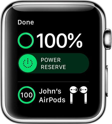 Apple Watch Battery level