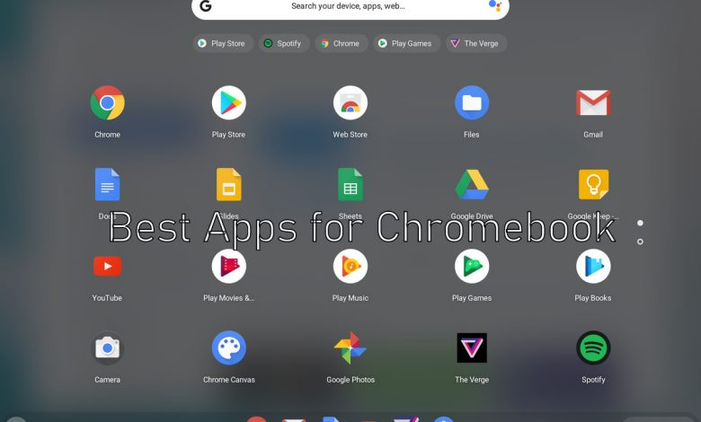 Best Apps for Chromebook