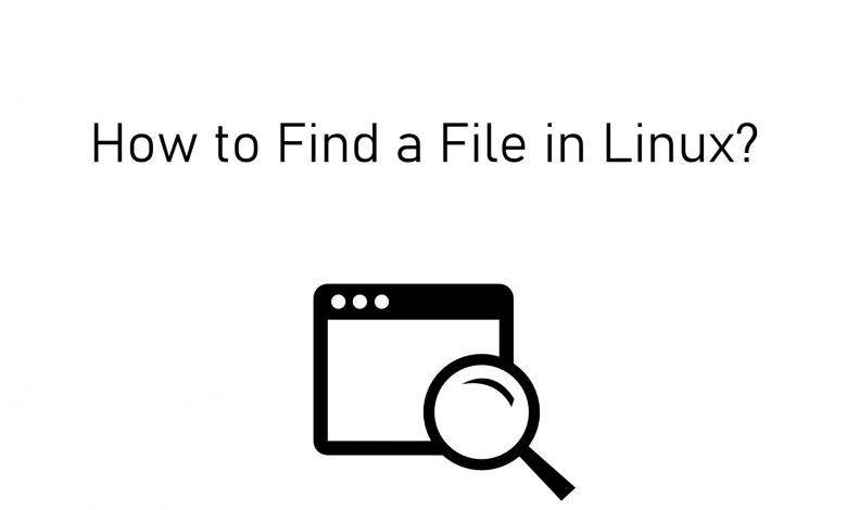 Find a file on Linux