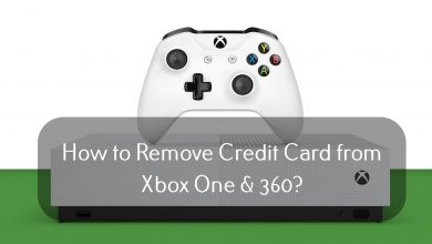 How to Remove Credit Card from Xbox One & 360 (1)