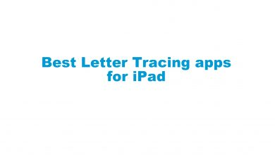Best Letter Tracing apps for iPad