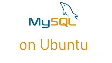 MySQL on Ubuntu