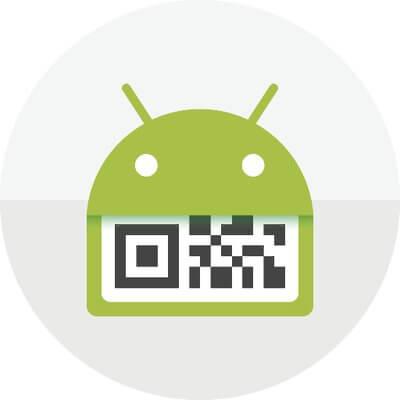 QR Droid app